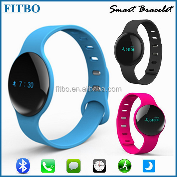Hot Temperature Sleep Monitor bluetooth smart watch for Samsung S6 + I9500 S4