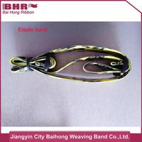 2016 new style wide black elastic band for bags accessory