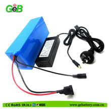 36Volt 15Ah lithium ion battery pack for electric bicycle with Pcb Protected Rechargeable