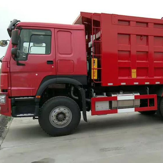 China HOWO low price tipper truck for sale