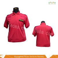High quality design 100%cotton fashionable outdoor POLO shirt for work/waiter/salesman/promotional uniforms custom logo