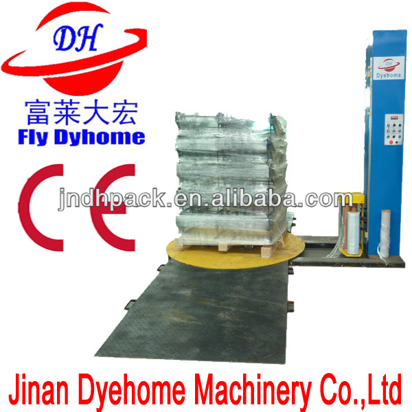 Pallet wrapping machine/stretch film wrap machine/pallet wrapper
