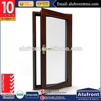 As2047 WERS design double glass aluminium side opening window