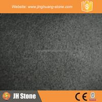 G684 Low price absolute black granite meter price