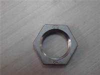 Stainless Steel Pipe Fittings Hexagon Back Nuts