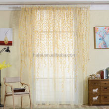 French window curtain sheer fabric wholesale