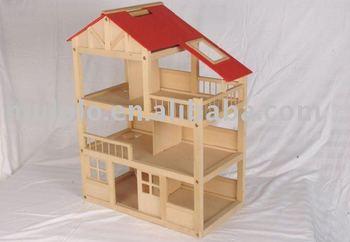 Mobili Per Bambole In Legno : Mobili in legno per bambole armadio letto como specchio vintage