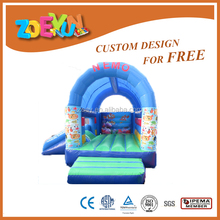 new finding nemo inflatable bouncy castle movable bounce houses for sale