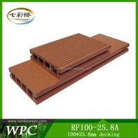 2016 wpc Eco-friendly wood plastic composite/wpc swimming pool RF100-25.8A