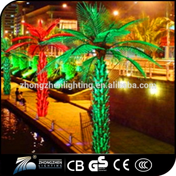 Good quality holiday decoration artificial palm tree for sale