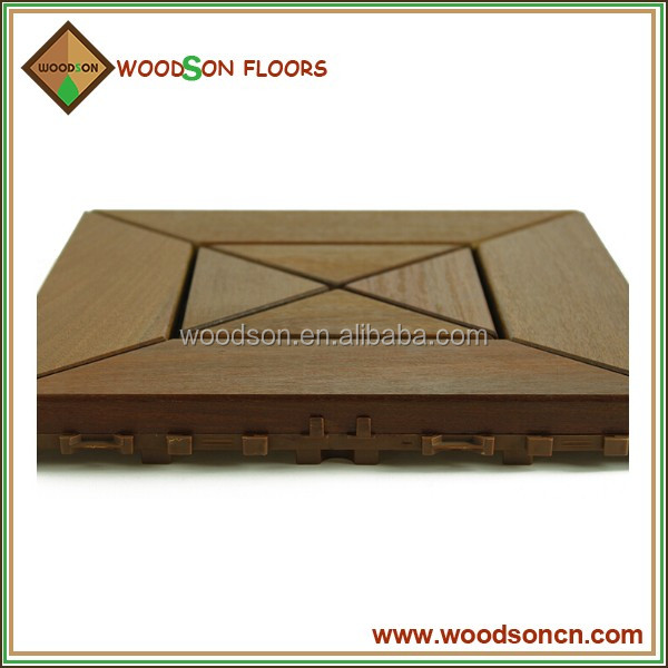 Pre-finished Extremely Durable Ipe Decking Wood