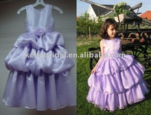 2012 Attractive Designs Cheaper Flower Girl Dress