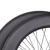27mm width carbon road bicycle wheels Tubular rim 700C 86mm height road wheels carbon fiber