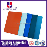 Alucoworld 12 years experience PVDF coating acp competitive price copper facade cladding acp