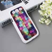 Heat transfer print 2d sublimation phone case with metal insert for Samsung S3