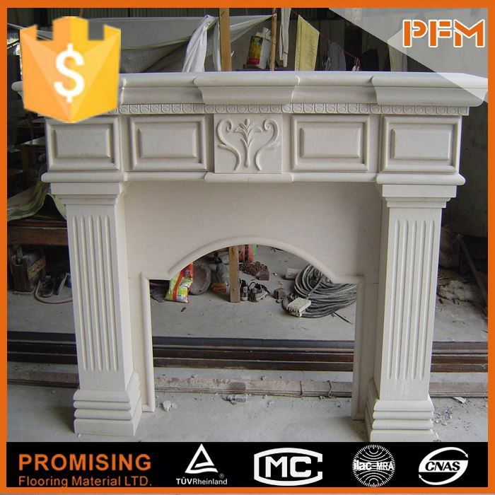 house decorative hand carved plastic fireplace mantle