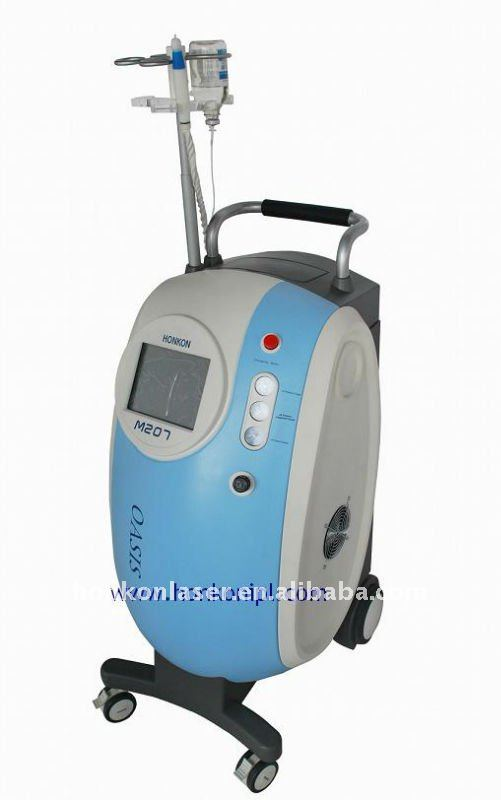 Water and Oxygen Jet for skin lifting tightening and deeply cleaning machine