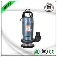 mini submersible pump, aluminum housing for clean water