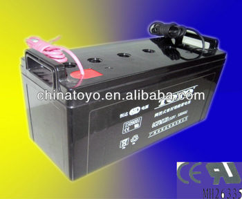12V 120AH dry batteries for ups