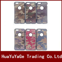 phone cases Army Camo Camouflage 2 in 1 Hard cover Dual Hybrid Protective case for Apple iPhone 6 6S