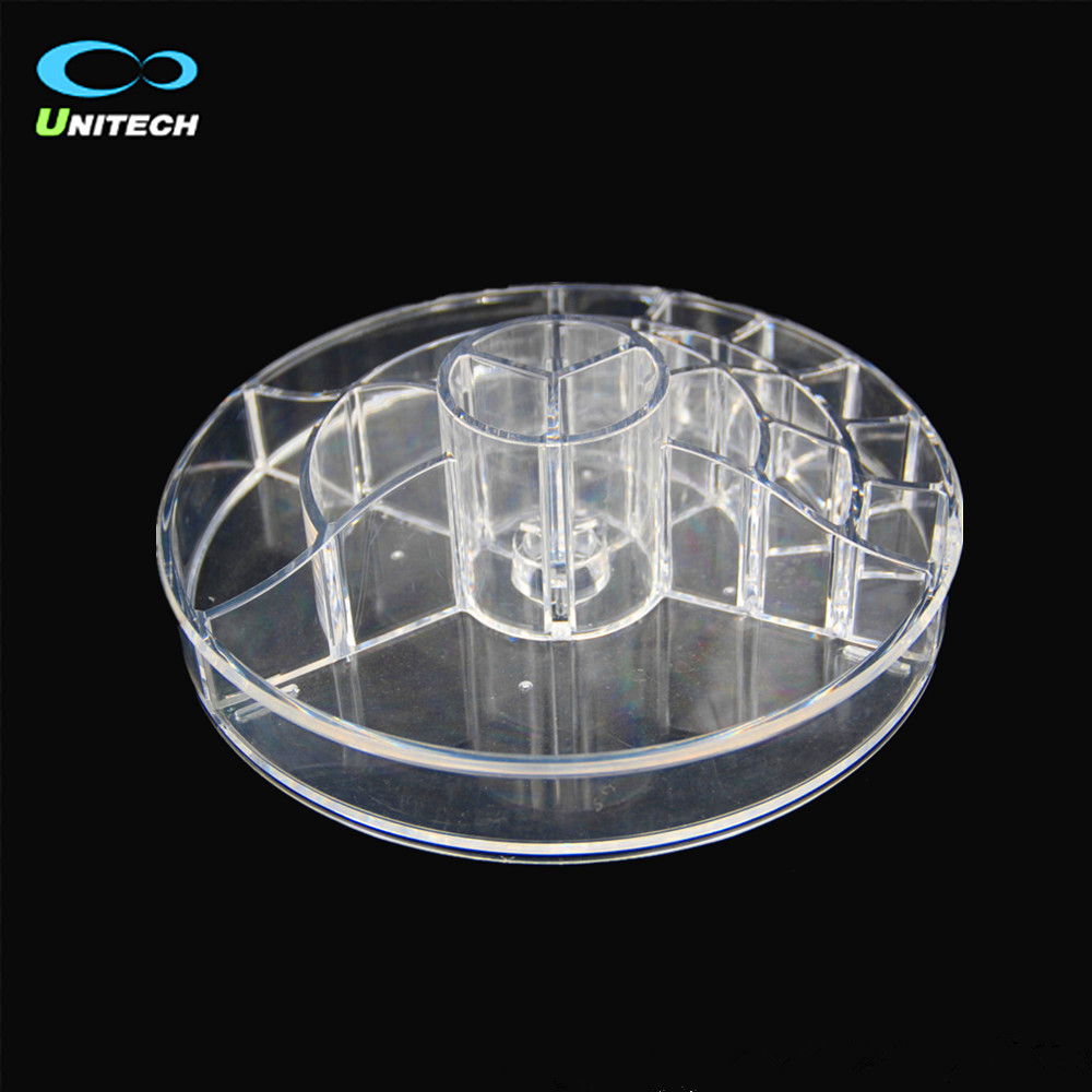 wholesale Clear <strong>acrylic</strong> make up organizer cosmetic display box