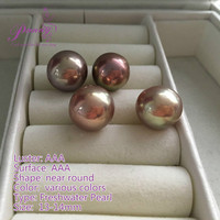 AAA 13-14mm Near Round Freshwater Loose Pearl