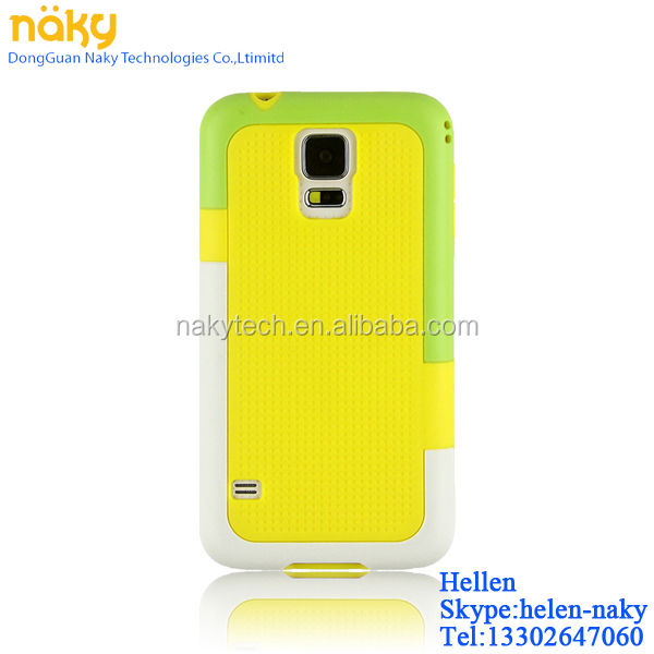 The Third Walnutt Brand Hybrid TPU Gel Shock Proof Back Cover Case for samsung galaxy s4 s5