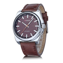 Curren Brand Genuine Leather Wristwatch Outdoor Casual Male Watch Quartz Movement