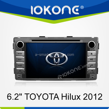 6.2 inch car auido system for TOYOTA Hilux 2012 with radio/ipod/tv/mp3/mp4/sd/usb