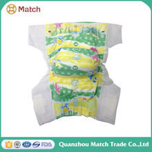 SGS Lovely new design disposable baby diaper
