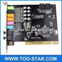 Controller PCI for Sound Card 7.1