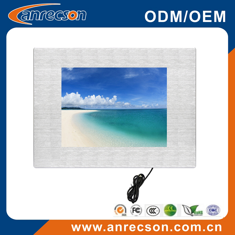 "23.6"" industrial LCD monitor wide temperature"