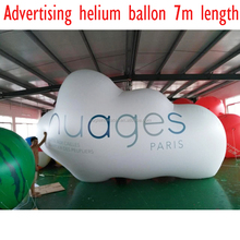Factory custom made MOQ 1PC top quality large floating advertisement product Inflatable helium balloon for advertising