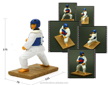 Korean souvenirs resin defensive stance taekwondo figurines