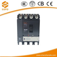 Earth leakage type and NSX 400A 4 poles plug-in circuit breaker,circuit breaker manufacturer with stable quality%