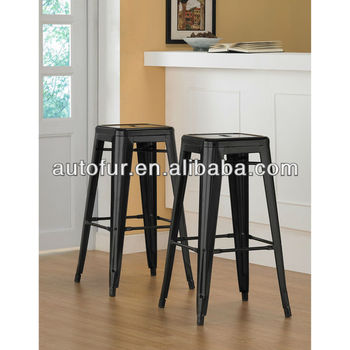 Antique metal industrial tabouret 30 inch black bar stools buy antique meta - Tabouret bar vintage ...