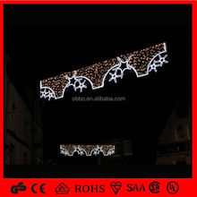 OB-SL hot christmas lighting metal lighted star wall decor
