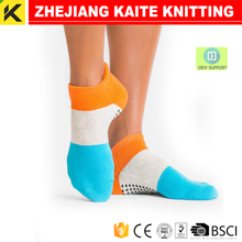 KT-P-1882 yoga socks half toe ankle grip