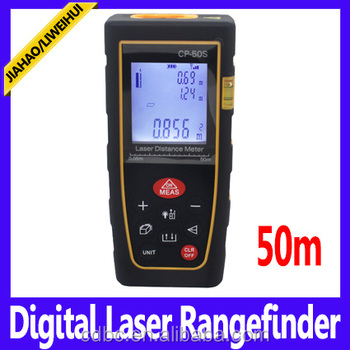 50m rangefinders 50m digital laser range finder class II