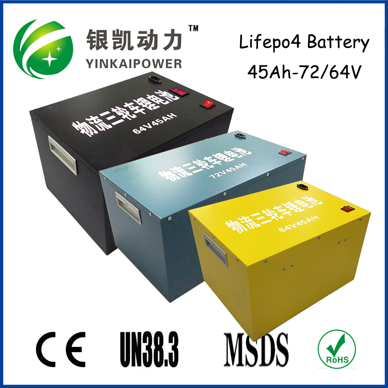 lifepo4 36V 48V 64V 72V 40Ah 50Ah 60Ah 100Ah batteries pack for solar power system