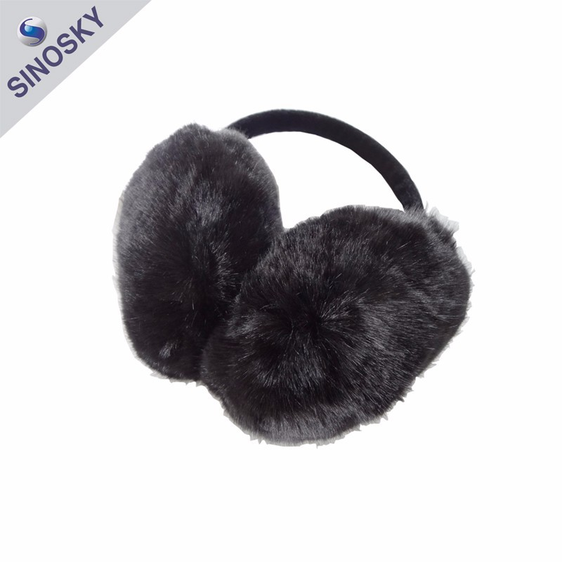 100% acrylic adult Cute Winter Warm ear muff / ear muff