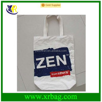 Factory cuctom pure cotton tote shopping bag