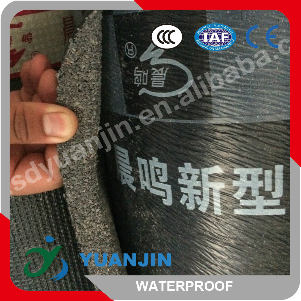 3mm 4mm SBS Fine Sand Elastomeric Modified Bitumen Waterproof Membrane