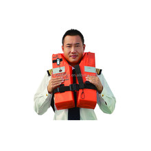 Cost price high quality waist life jacket for sea fishing