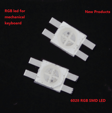 Popular High Brightness 6028 4-pin RGB SMD LED Diodes for computer keyboard