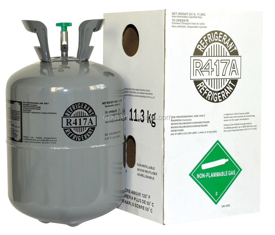 Wholesale cheap gas refrigerant R417a with OEM manufacture