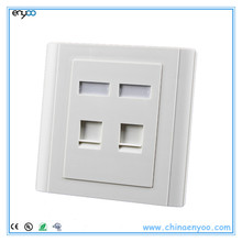 network wall faceplate,network jack faceplate,network outlet faceplates