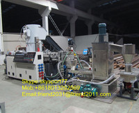 PP PE Film recycling pelletizer/pelletizing machine/granulating machine/line/plant