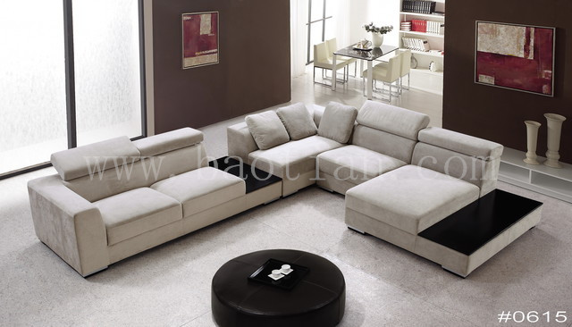 Modern and Hot-sale U-shaped sectional sofa with comfortable support for office furniture