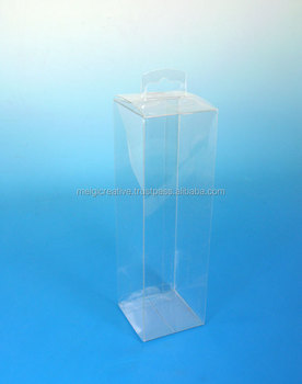 Hanging Retail Clear Folding Box